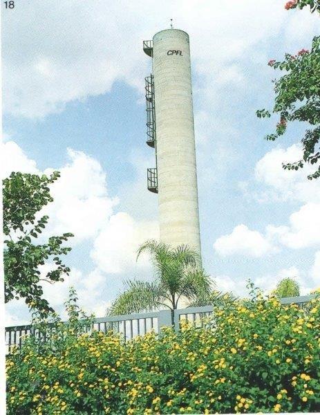 Reservatório elevado em concreto armado