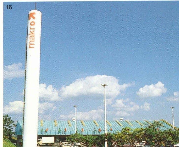 Torre de água em concreto